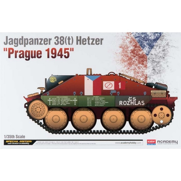 1/35 Jagdpanzer 38(t) Hetzer Tank Prague 1945 (Ltd Edition)