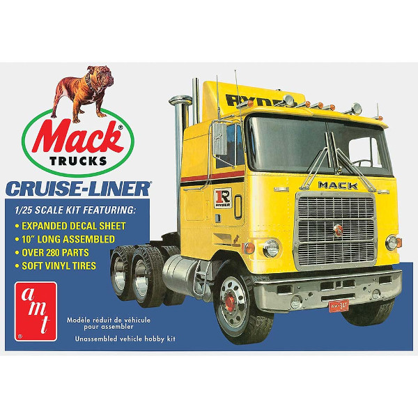 1/25 Mack Cruise-Liner Semi Tractor