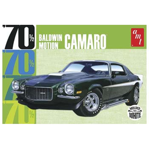 1/25 Baldwin Motion '70 Chevy Camaro White