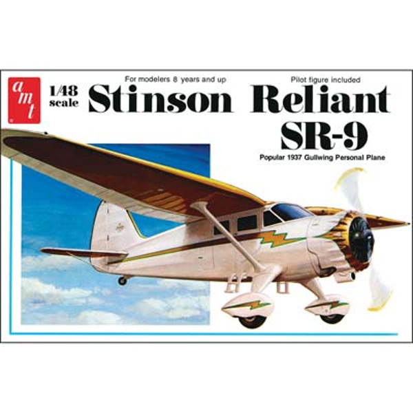 1/48 Stinson Reliant Airplane