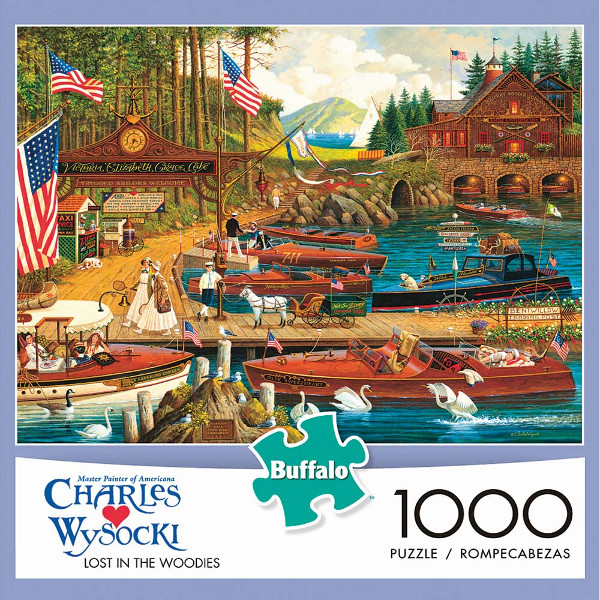 Lost in the Woodies: 1000pc