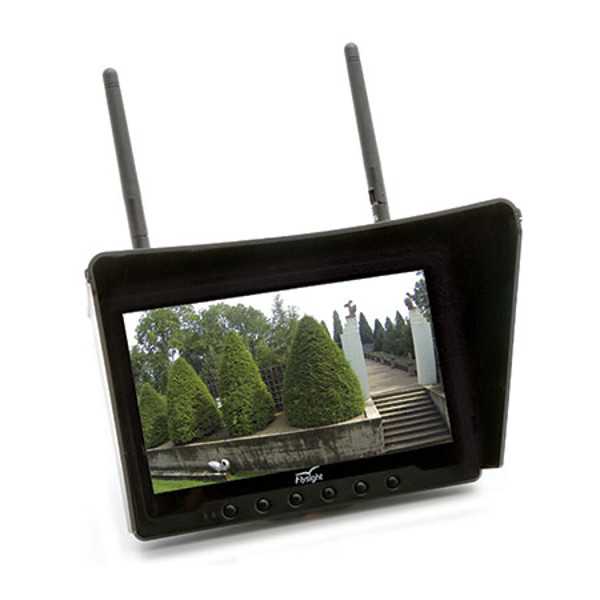 "Black Pearl 32CH, HD 1024 FPV Monitor 7"" Screen"