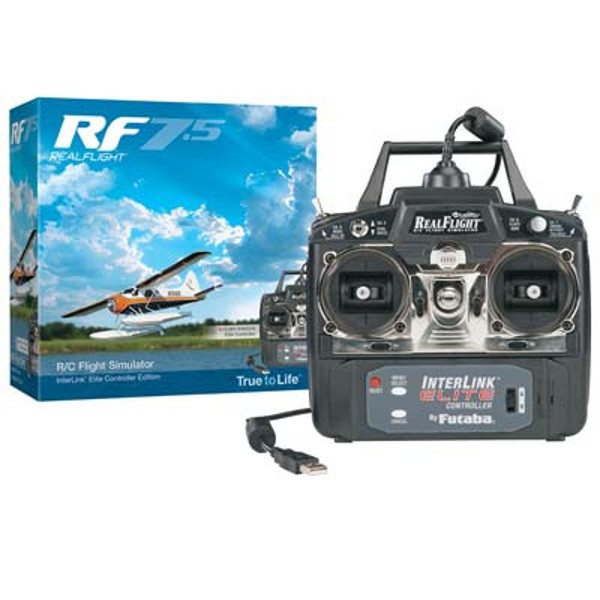 RealFlight RF- 8 Simulator w/Interlink Controller