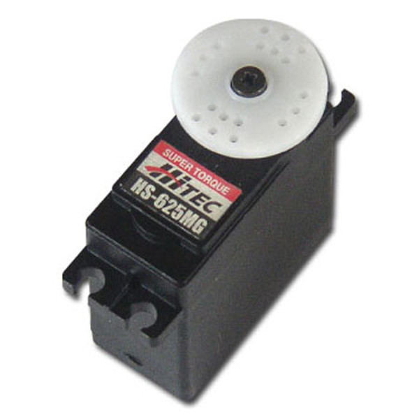 Hitec HS-625MG Standard Servo: High Speed Ball Bearing Metal Gea