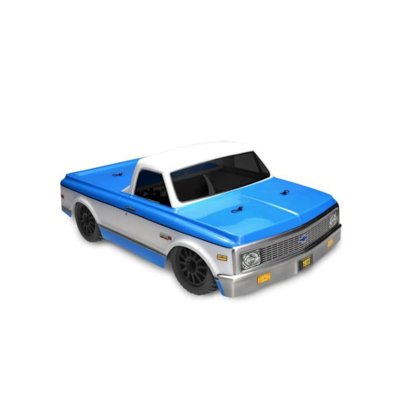 1/10 1972 Chevy C10 Clear Body, requires JCO2173: SLH