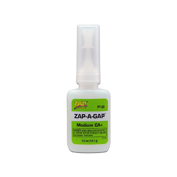 Zap A Gap Ca+ Glue: 1/2oz