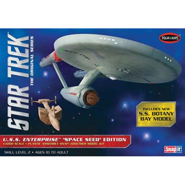 1/1000 Star Trek TOS USS Enterprise Space