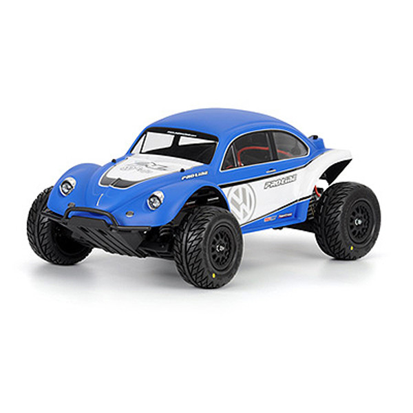 Volkswagen Full Fender Baja Bug Clear Body :Slash
