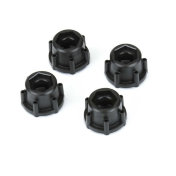 "6x30 to 17mm Hex Adapters for 6x30 2.8"" Wheels"