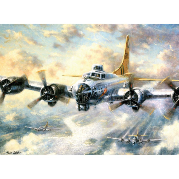 Flying Fortress Paint by Number Kit