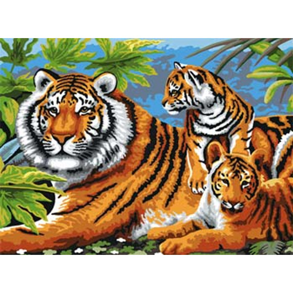 PBN Tiger and Cubs