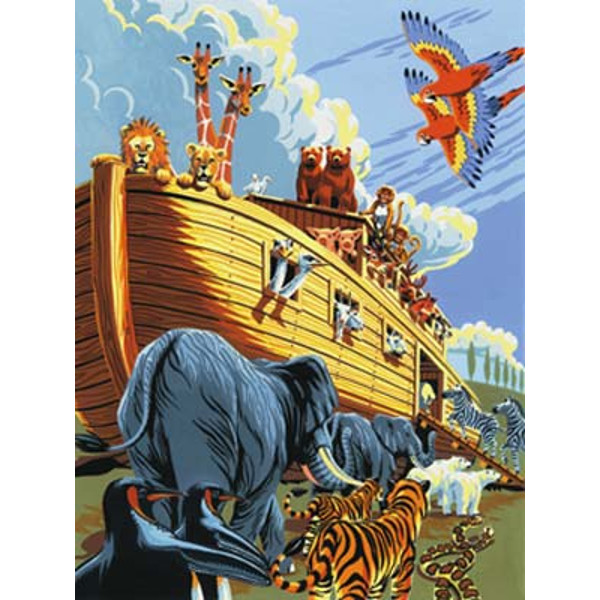 Noah's Ark Paint by Number