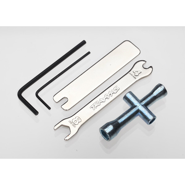Traxxas Four Way Wrenches:OpenEnd/UJoint