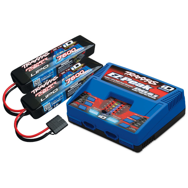 Dual 2S Lipo Battery/Charger Completer Pack