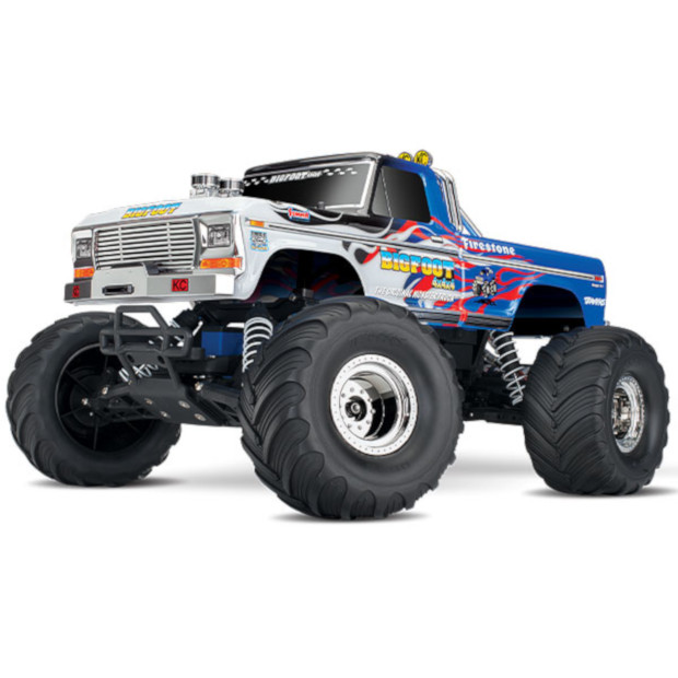 Traxxas Bigfoot No1 RTR: FLAME