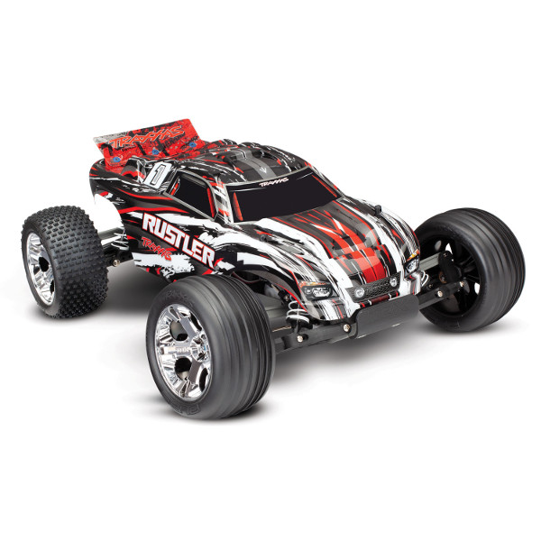 Traxxas Rustler XL5: RED