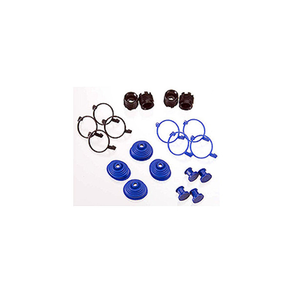 Traxxas Pivot Ball Caps (4) Dust Boots Rubber (4)