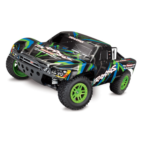 Traxxas Slash 4x4 Brushed: GREEN