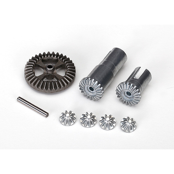 1/18 Gear set, differential, metal