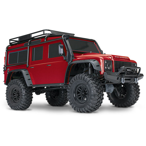 Traxxas TRX-4 Crawler RTR: RED