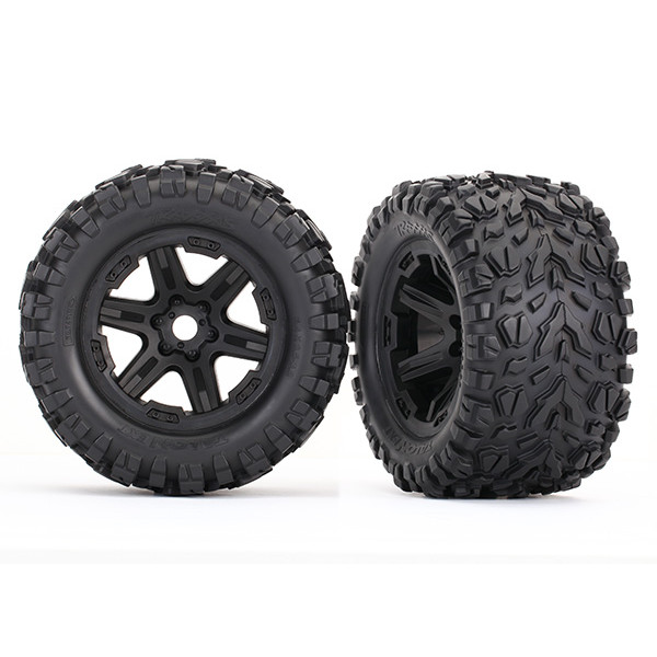 8672 Assembled Talon Tires & 17mm Wheels