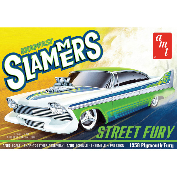 1/25 Street Fury 1958 Plymouth Slammers SNAP