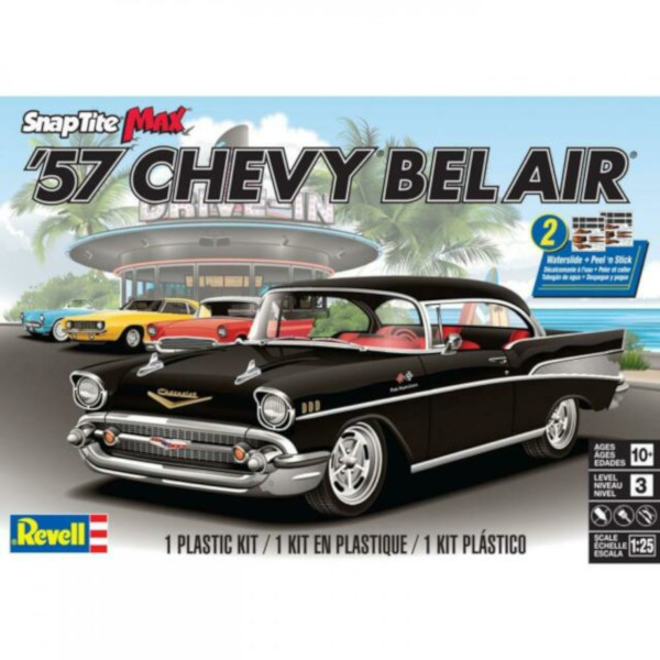 Revell 1/25 '57 CHEVY BEL AIR Snap