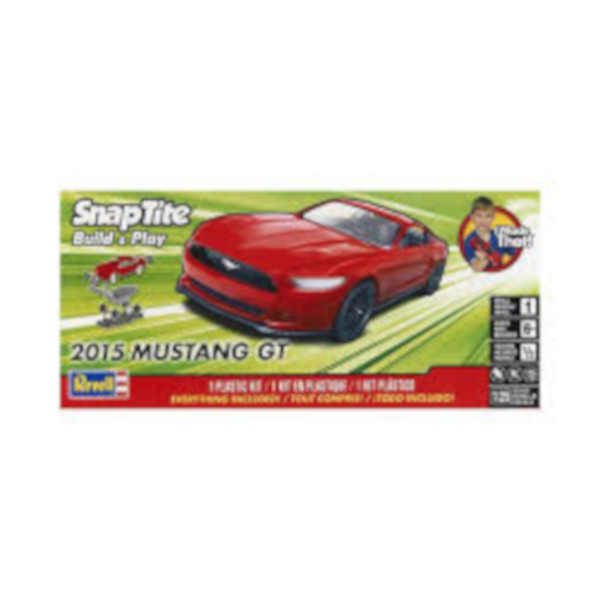 "1/25 2015 Ford Mustang GT Red ""SNAP"""