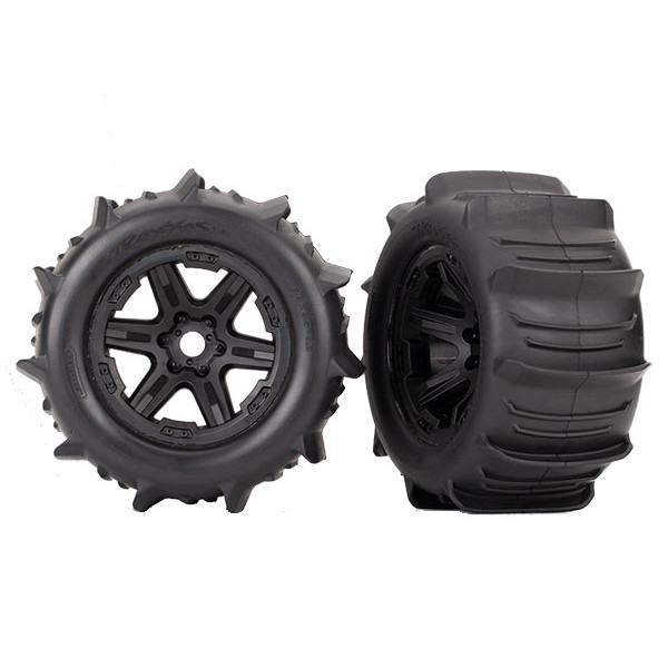 "8674 3.8"" Paddle Tires & Wheels"