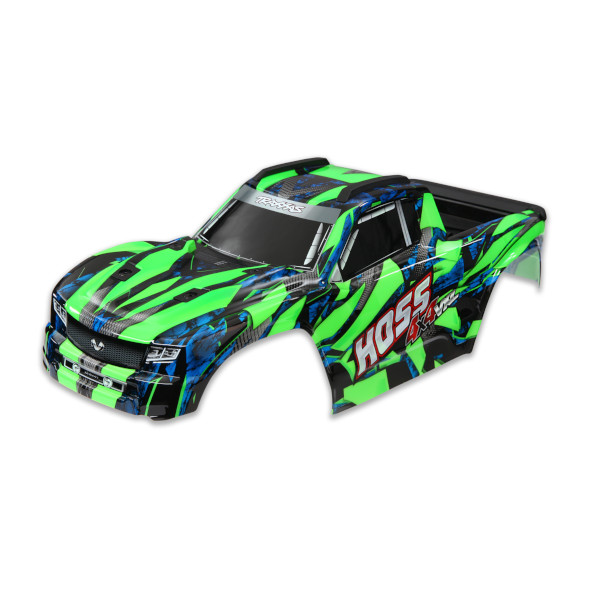 9011G Traxxas Hoss Body: GREEN